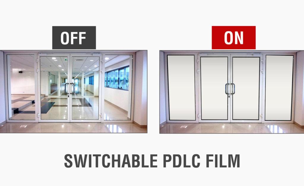 switchable pdlc film