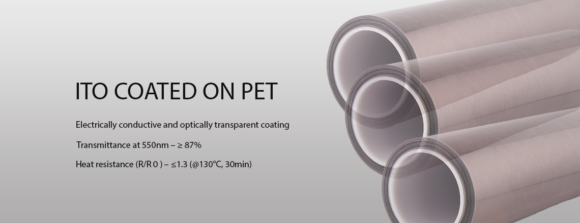 ITO COATED ON PET